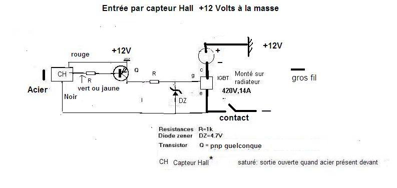 Schema allumage transistorisé