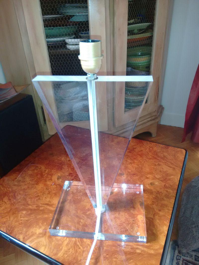 Lampe De Bureau En Plexiglass